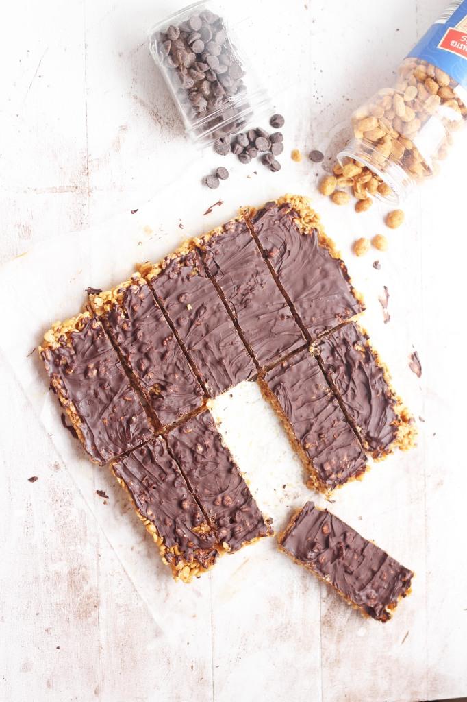 Nuts over Chocolate Bars | carmelmoments.com