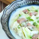 Creamy Corned Beef and Cabbage Soup
