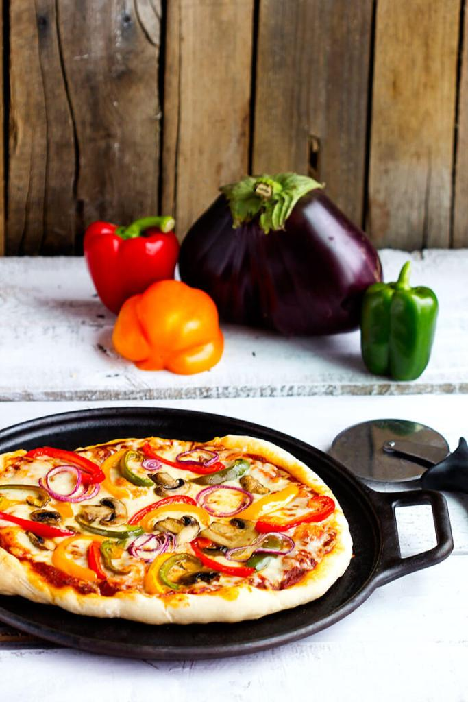 Roasted-Vegetable-Pizza
