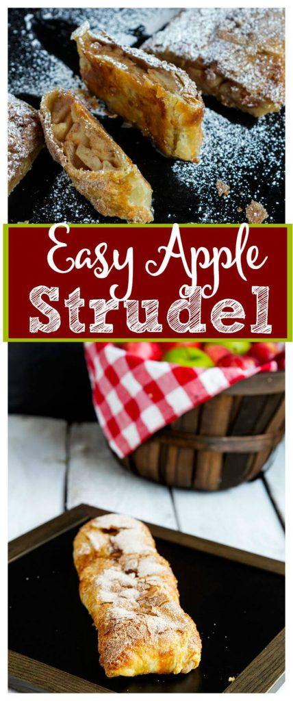Easy-Apple-Strudel // @gatherforbread