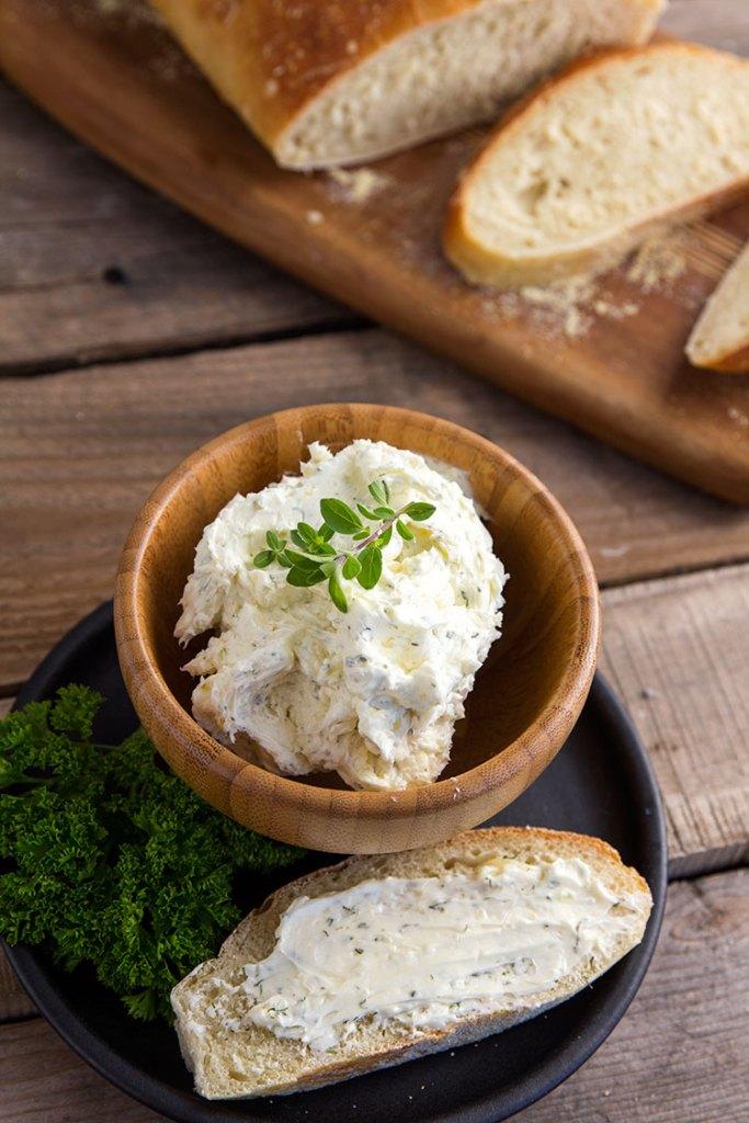 Garlic Herb Butter // gatherforbread.com