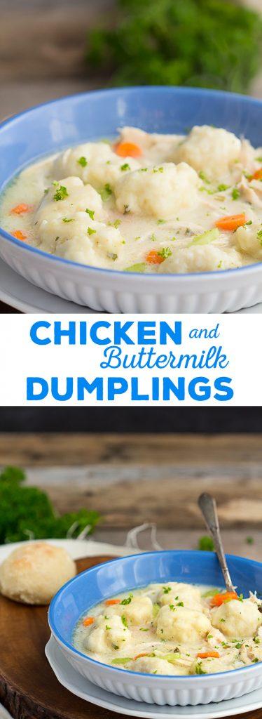 Chicken and Buttermilk Dumplings   gatherforbread.com