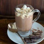 Simple Homemade Hot Chocolate | gatherforbread.com