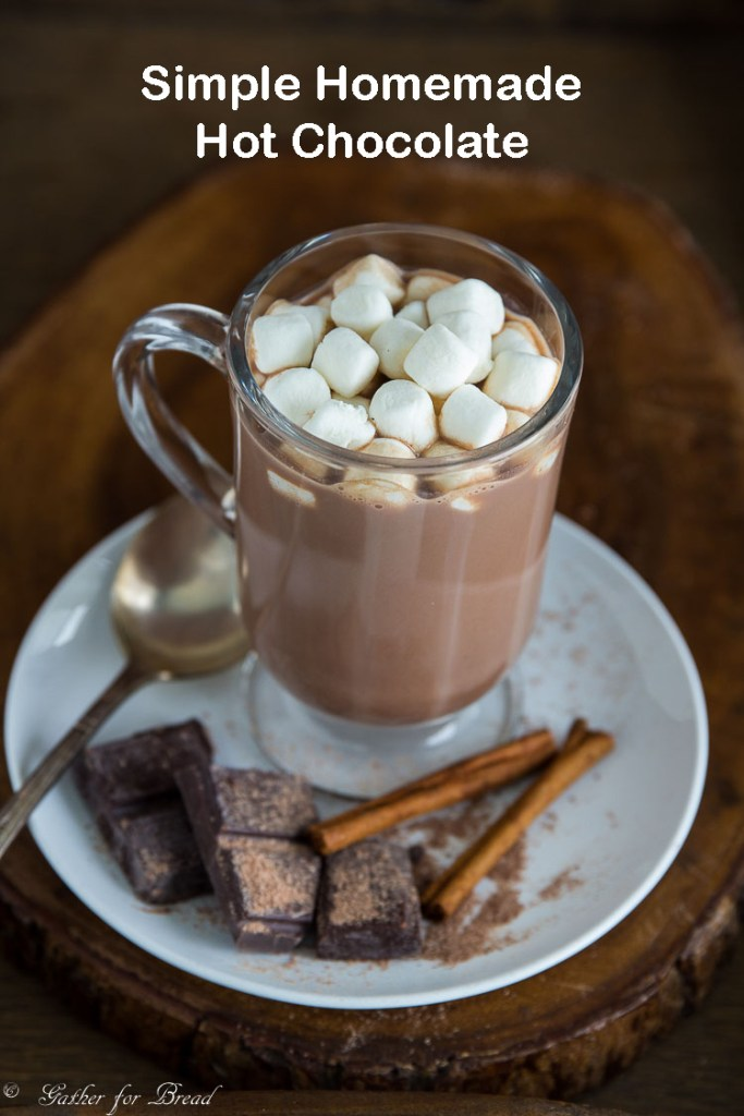 Simple Homemade Hot Chocolate – Creamy homemade hot chocolate that ...