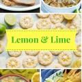 Luscious, sweet & savory, lemon & lime recipes!