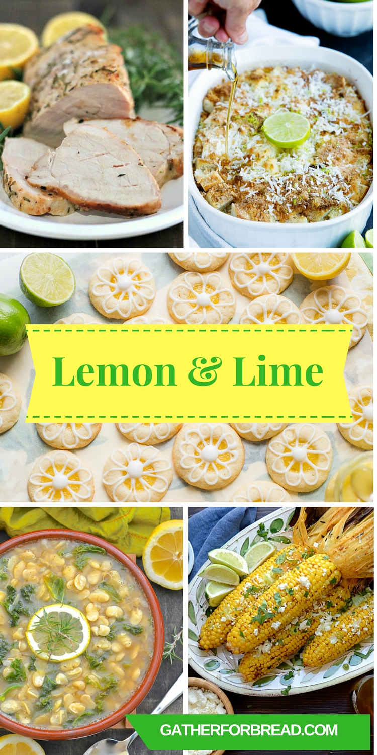 Lemon and Lime - Collection of Citrus Recipes , Amazing selection of sweet and savory lemon and lime dishes
