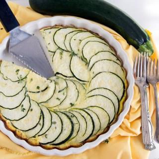 Crustless Zucchini Pie