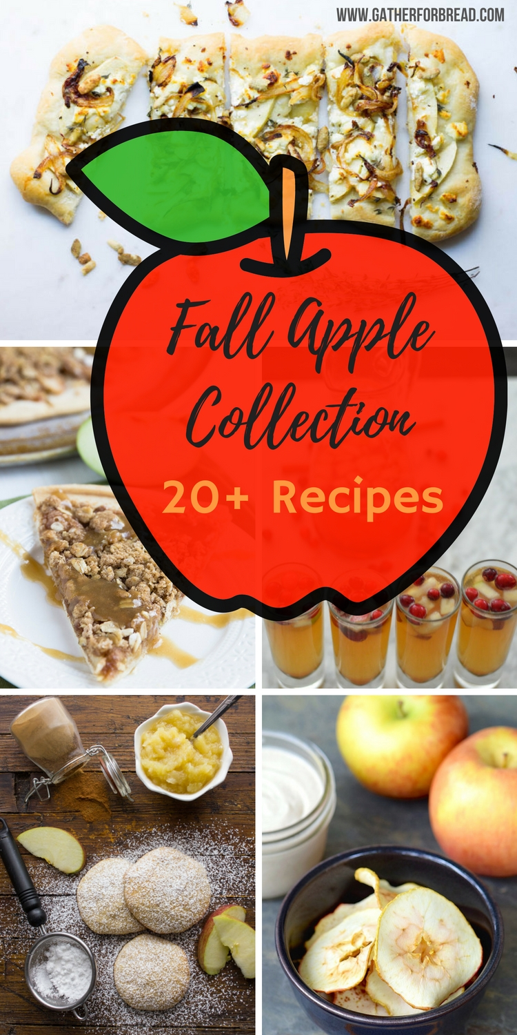 Fall Apple Recipe Collection - Round up of amazing fall flavors including sweet and savory treats. A variety of recipes to get you inspired for autumn.