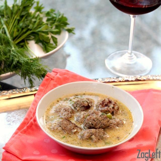 Greek-Meatballs-Yuvarlakia-recipe-from-ZagLeft