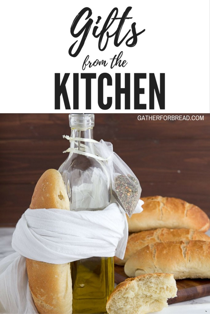 Homemade Gifts from the Kitchen - Gifts to wrap up and give for the holidays straight from your own kitchen. From bread to dips to candy. Find a perfect gift for everyone.