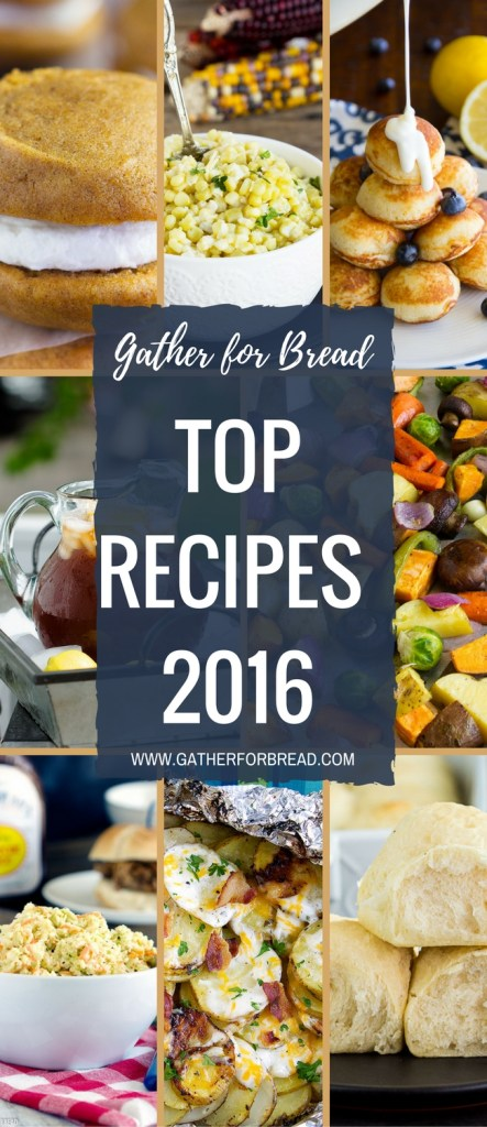 Top Recipes 2016