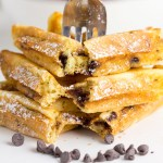 Chocolate Chip Buttermilk Waffles