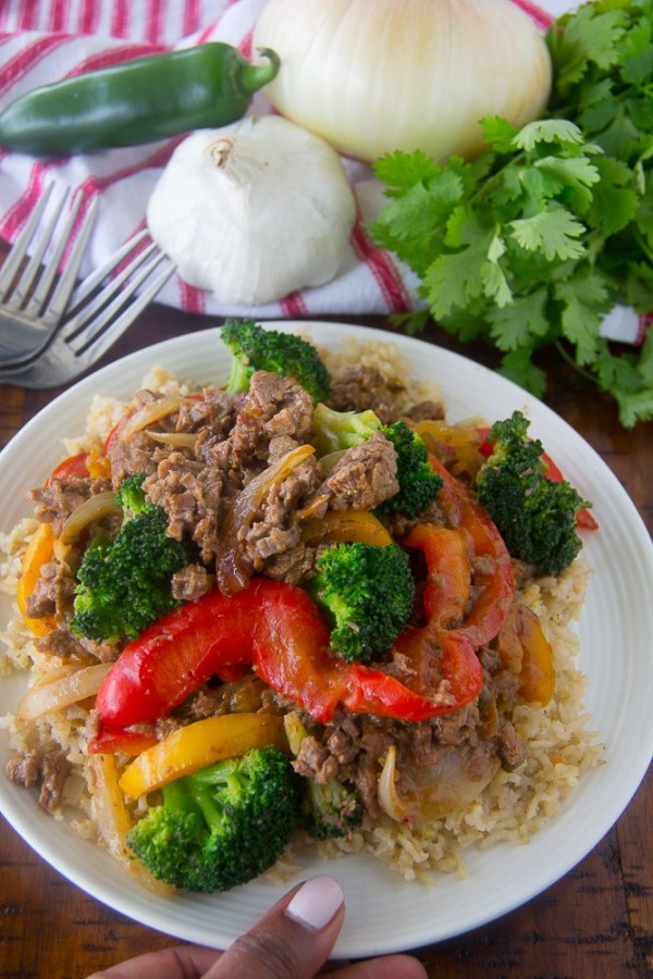 Asian Style Beef Stir Fry