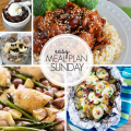 Easy Meal Plan Sunday Week