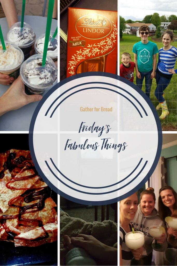 Friday's Fabulous Things Week 18