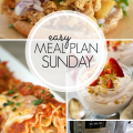 Easy Meal Plan Sunday Week 3
