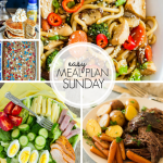 Easy Meal Plan Sunday Week 4