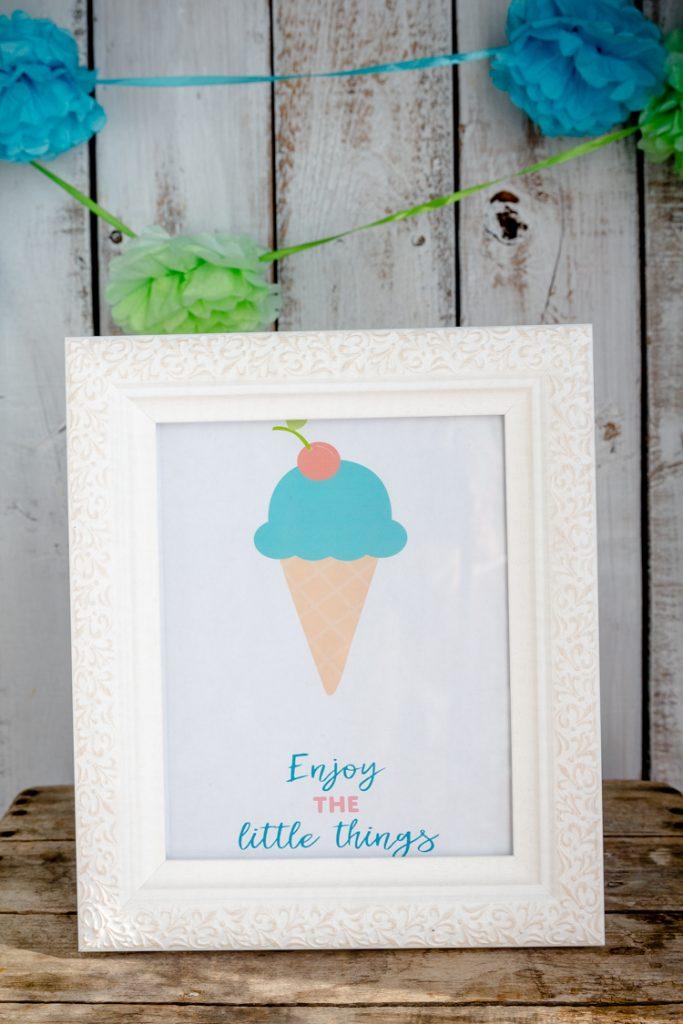 Ice Cream Social - Free Printable