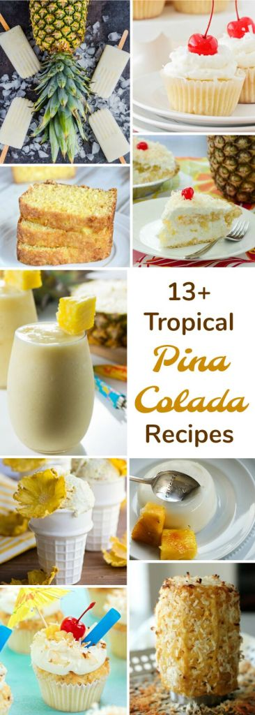 Tropical Pina Colada Recipes