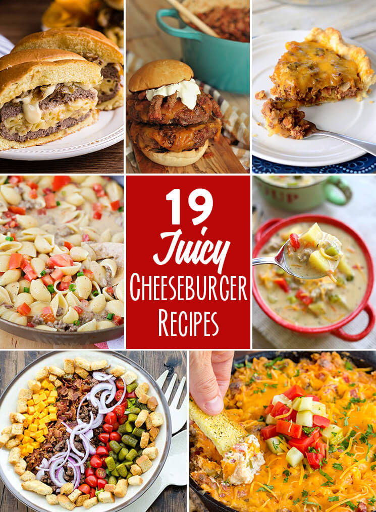 19 Juicy Cheeseburger Recipes