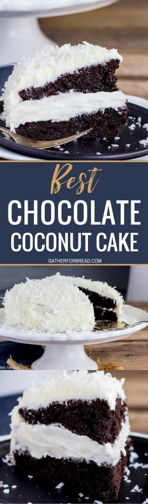 Chocolate Bundt Cake With Coconut Center