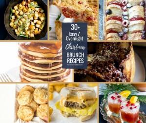 30 Easy Overnight Christmas Brunch Recipes