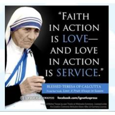 Faith in Action is Love