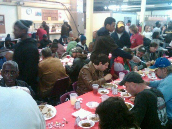 Christmas celebration at the New Orleans Mission