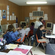 Computer Training at Community Center of St. Bernard