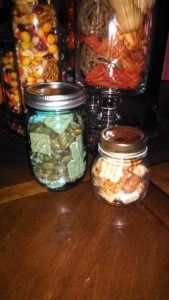 snack mix all 3 jars