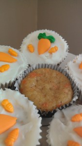 carrot cupcakes 2