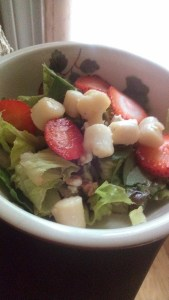 strawberry spinch salad