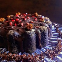 Double Chocolate Curly Dock Seed Cake: A Healthy, Decadent Delight!