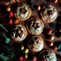 Crabapple & Rosemary Hand Pies:  Ancestral Offerings