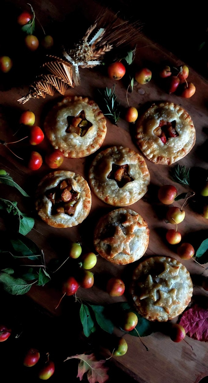 Crabapple & Rosemary Hand Pies:  Ancestral Offerings for Mabon — Gather Victoria