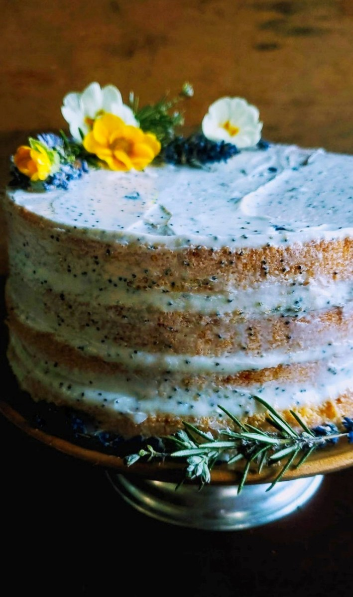 Imbolc Lavender & Rosemary Seed Cake