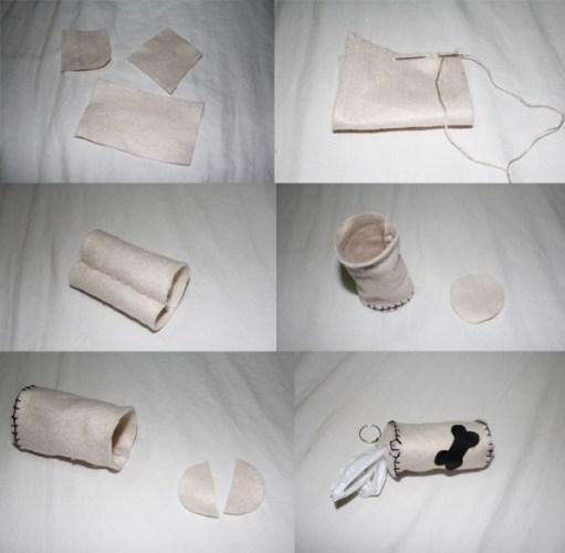 porta saquinho petisco ossinho