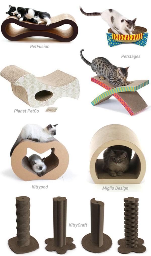arranhadores papelao gatos