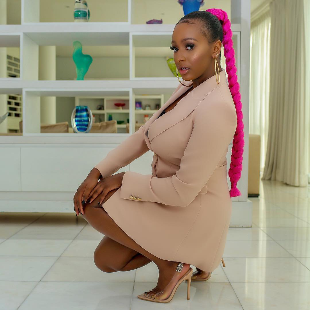 Level Up! DJ Cuppy Flaunts New Whip, It's A Customized Ferrari