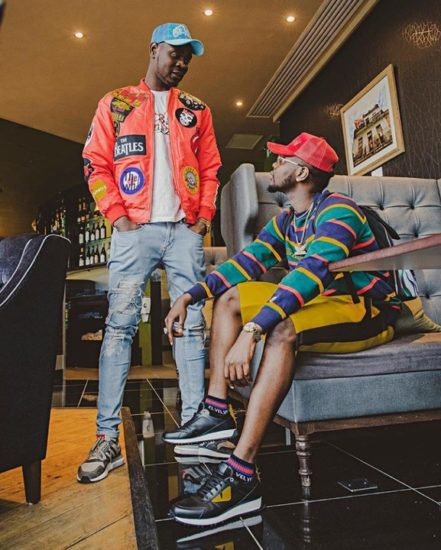 Kizz Daniel Shares Cute Photo With His Brother