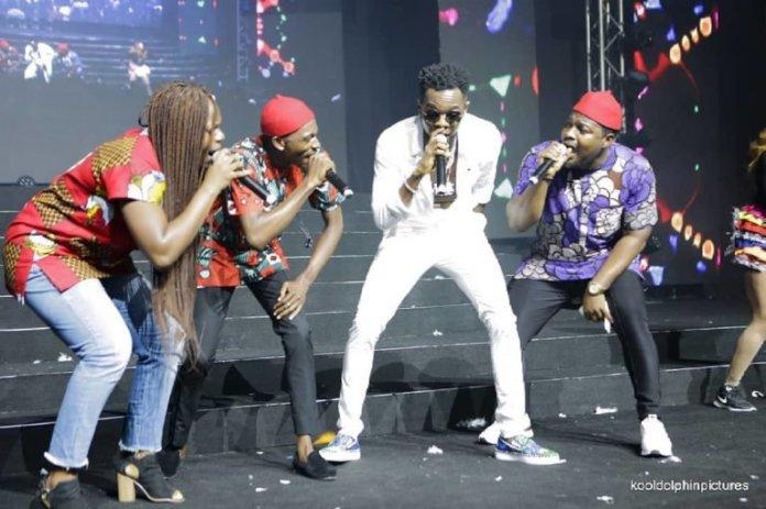 Photos: Tiwa Savage, D'banj, Wizkid, Olamide, Patoranking & Phyno