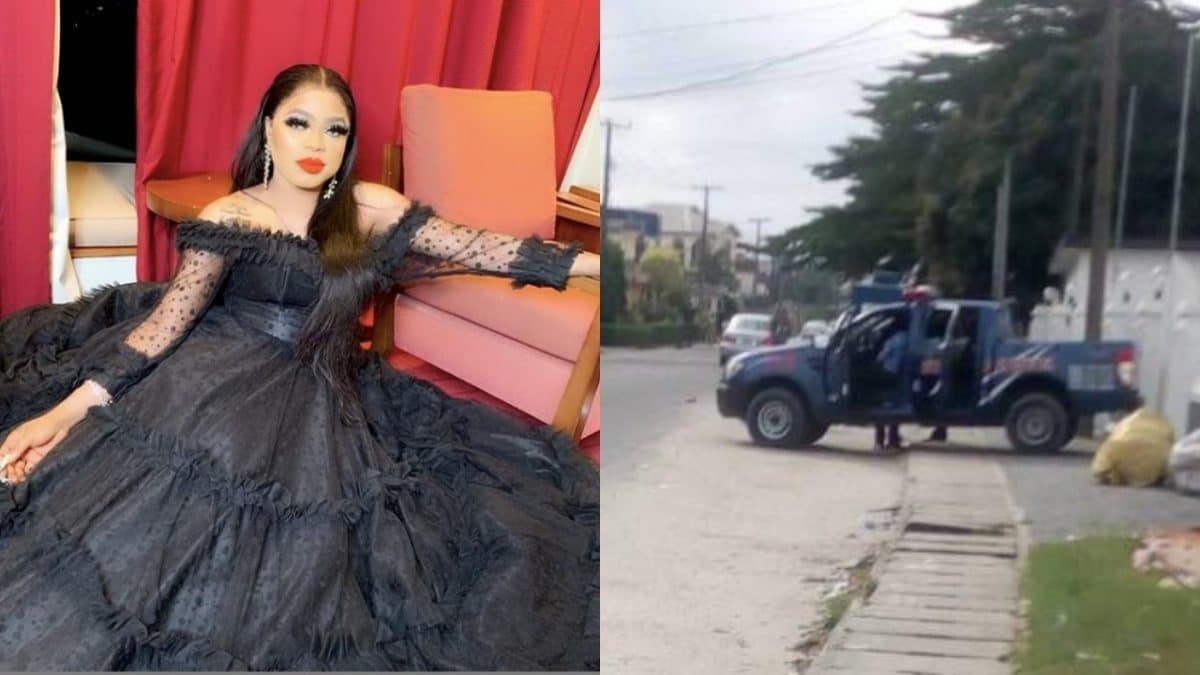 Bobrisky on the run as Police storm his nude birthday party, arrest 5 [PHOTOS]