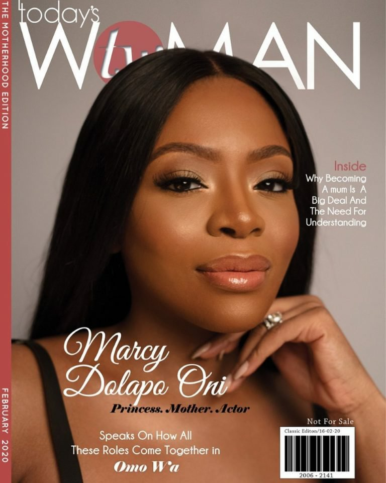 Princess, Mother, Actor! Dolapo Oni is the cover girl on this Special issue of TW Magazine