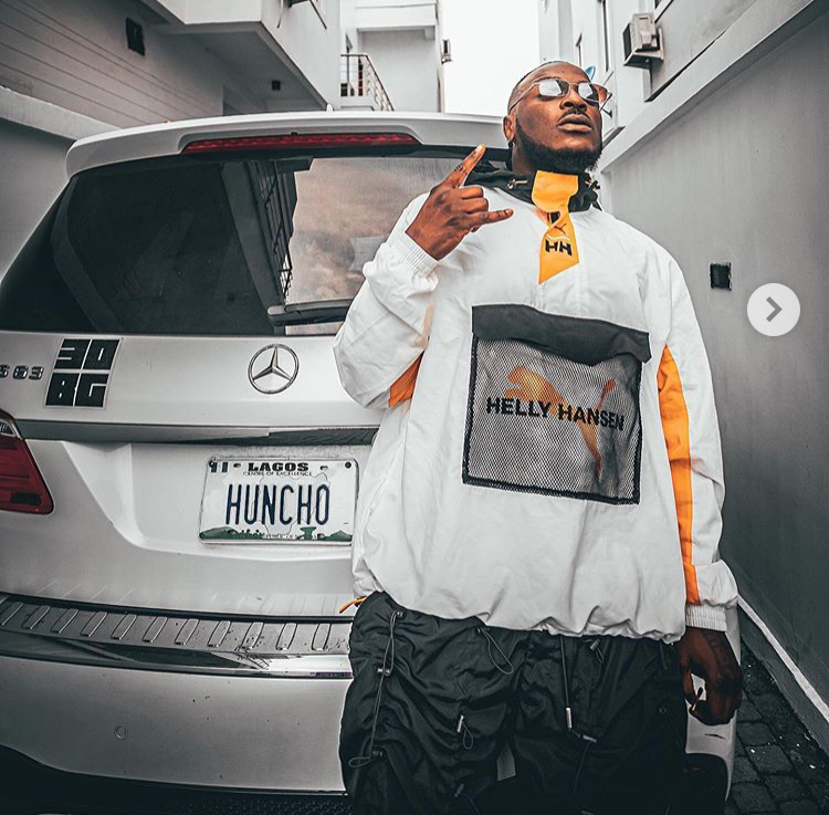 """""""Weyrey My Babe Never Even See Space"""" – Peruzzi Replies Fan Who Begged Davido For Space On His Private Jet"""