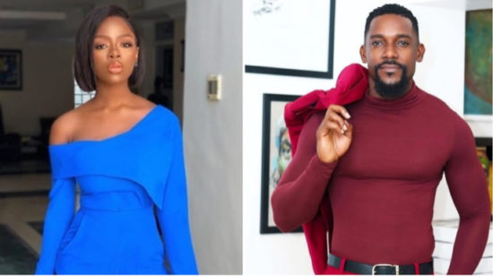 BBNaija Reunion: Diane angrily walks out on Ebuka after he revealed the actor she's secretly crushing on (Video)