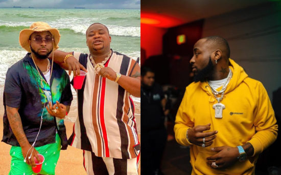 Davido visits private beach weeks after quiting social media