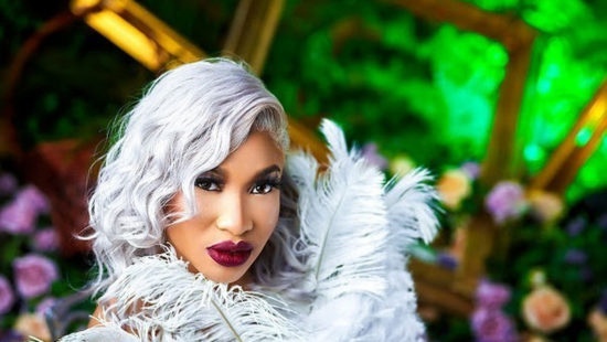 Tonto Dikeh receives Mercedes Benz car gift from a close friend as she celebrates her 35th birthday (Video)