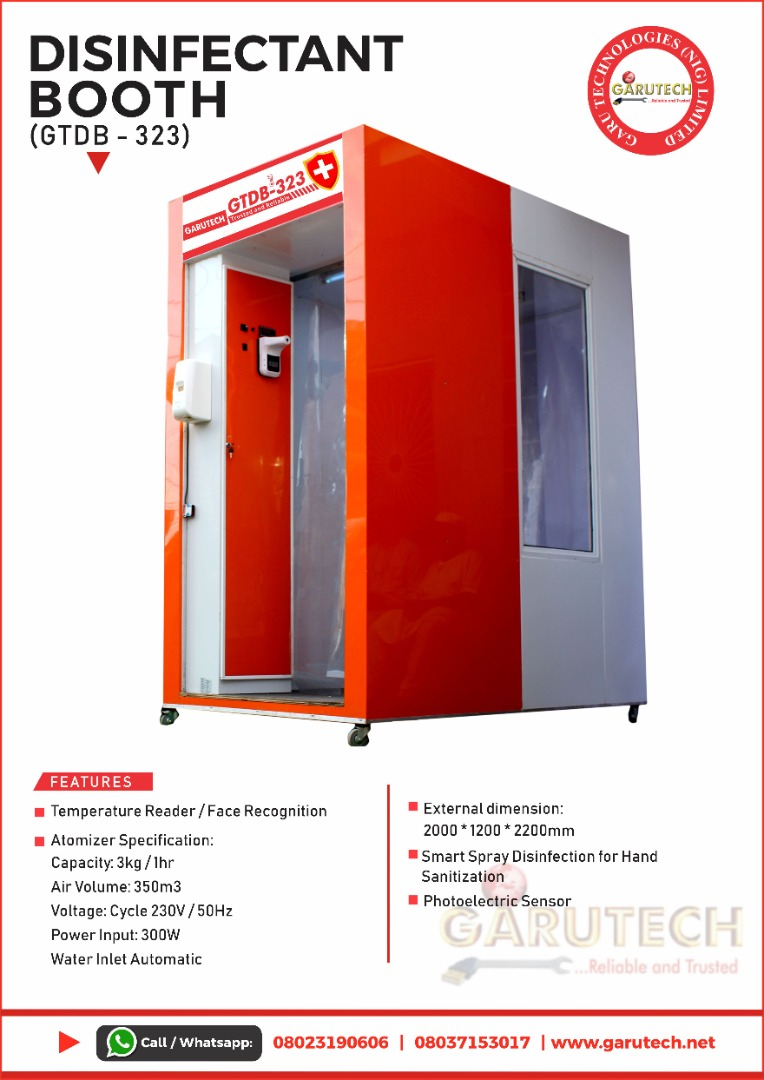 Why You Need Garutech Full-body COVID Disinfectant Booth