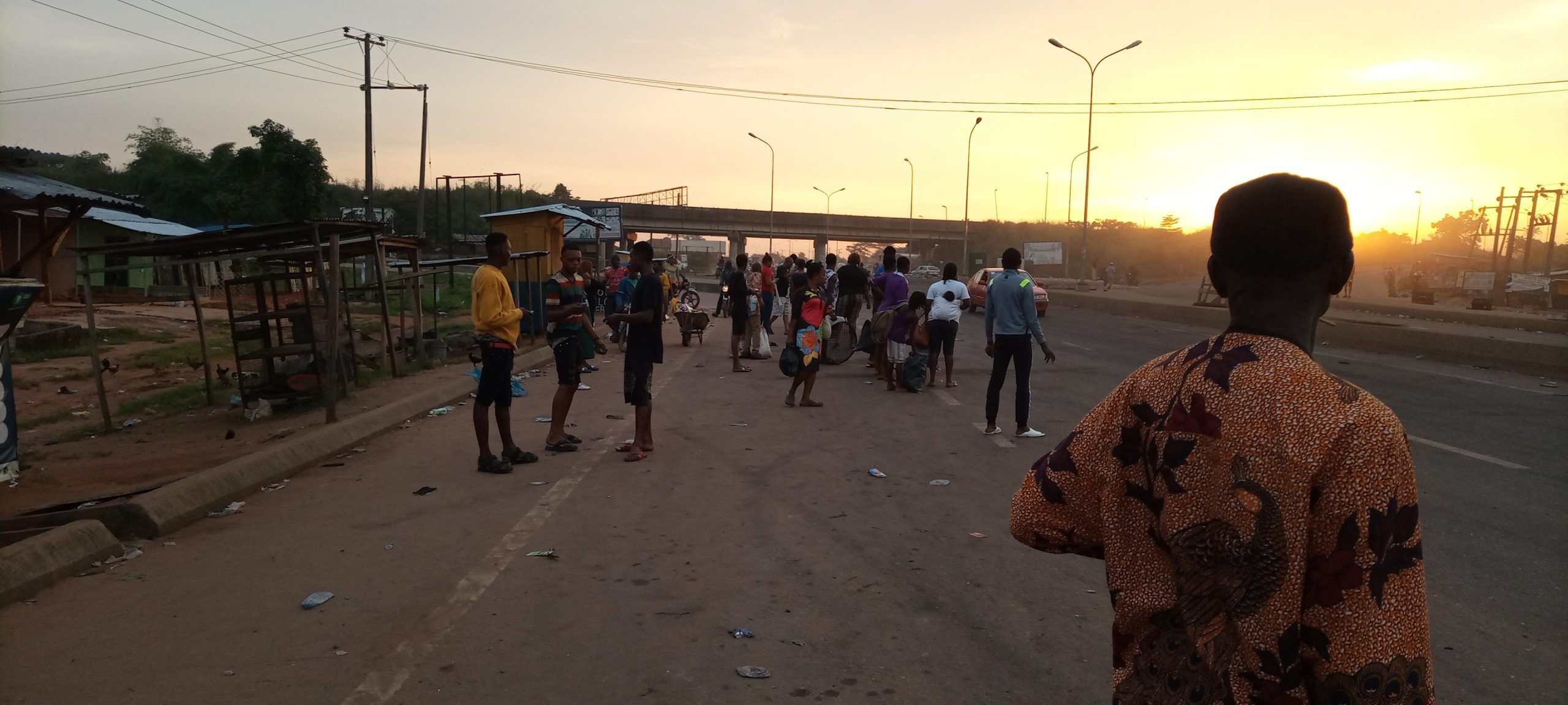End SARS: Passengers face hardship in Edo as protest shuts down state