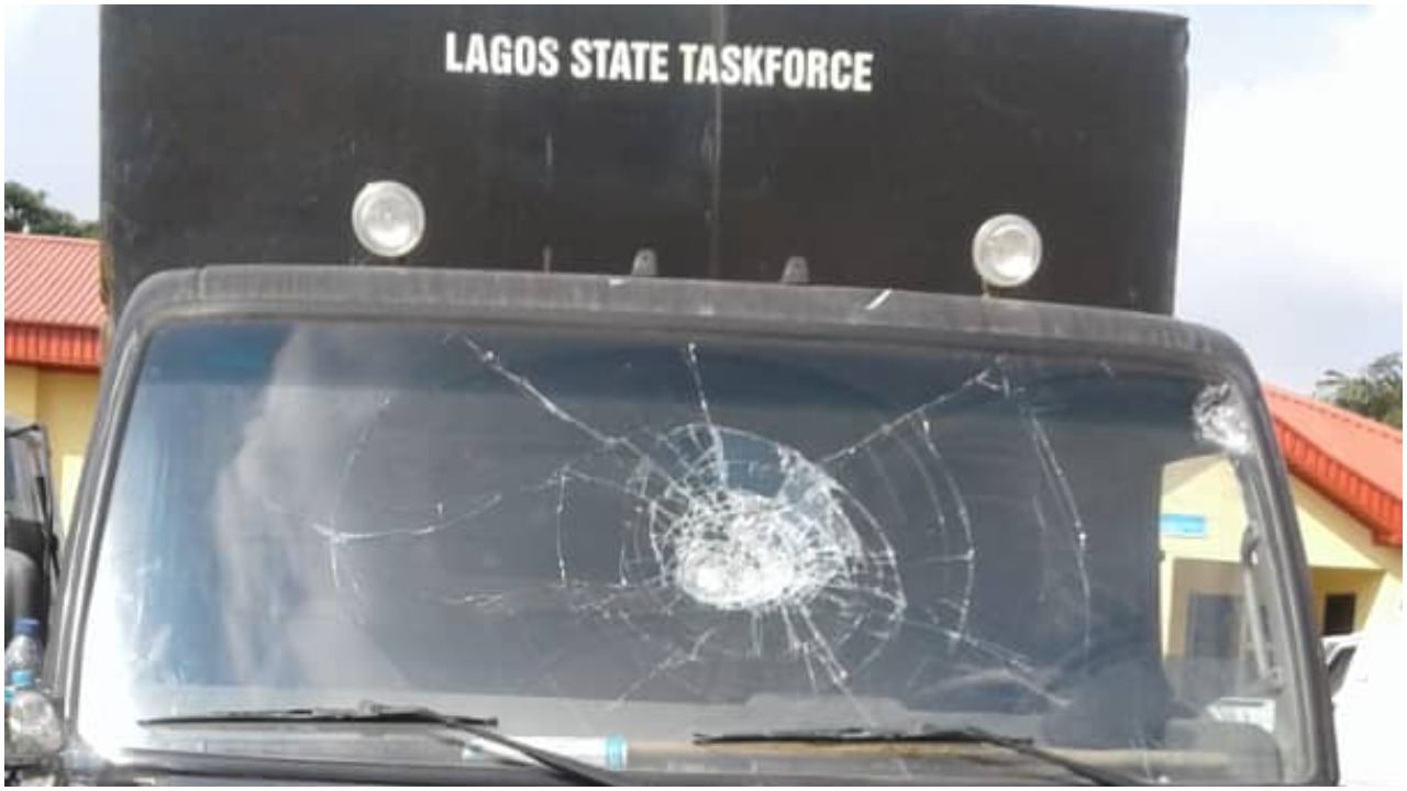 Another protest erupts in Lagos as Okada riders, hoodlums attack Task Force [Video]